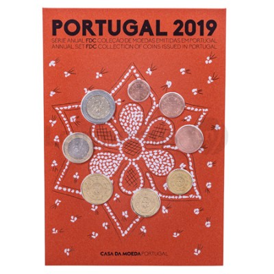 Carteira FDC - Portugal 2019