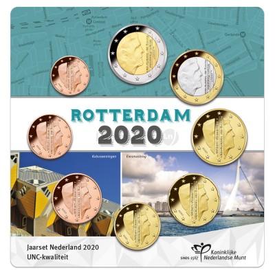 Set Moedas Euro Holanda em blister 2020