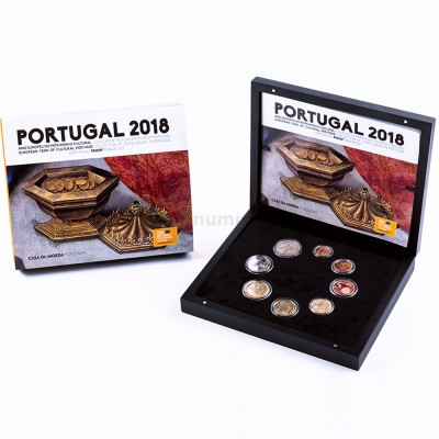 Carteira PROOF - Portugal 2018