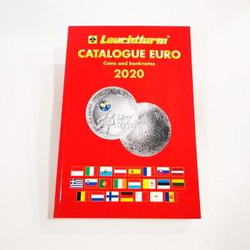 Catálogo Moedas Euro Leuchtturm 2020