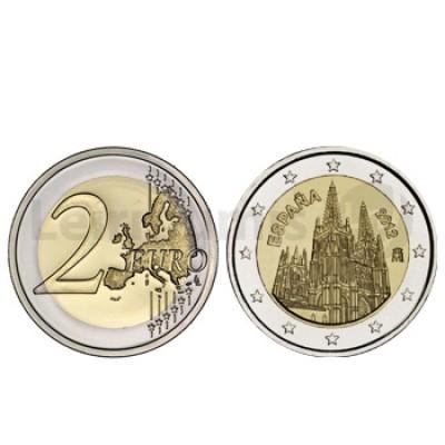 2 Euros Castelo de Burgos Espanha 2012