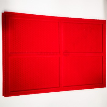 Tabuleiro Expositor Pequeno Vermelho (Só Tabuleiro)
