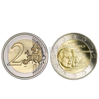 2 Euros Gran Duque Guilherme IV Luxemburgo 2012