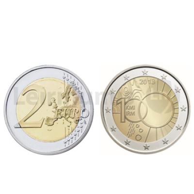 2 Euros Instituto da Metereologia Bélgica 2013