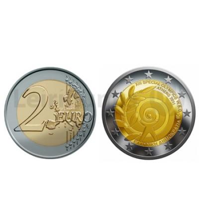 2 Euros Jogos Olimpicos Especiais Grécia 2011