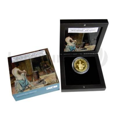 Moeda 2,5€ Comemorativa Jose Malhoa 2012 Ouro Proof