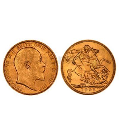 1/2 Libra Ouro Eduardo VII