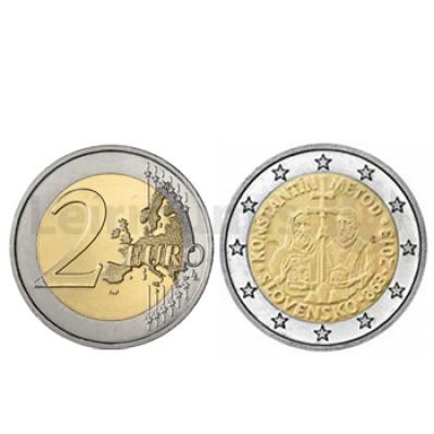 2 Euros Metodo Constantino Eslováquia 2013