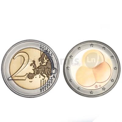 Moeda 2 Euro 100 Anos da Constituição Finlândia 2019