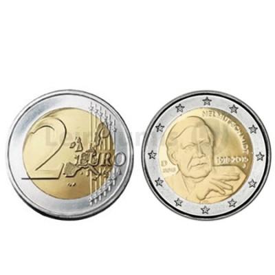 Moeda 2 Euro 100 Anos Nascimento de Helmut Schmidt Alemanha 2018 D