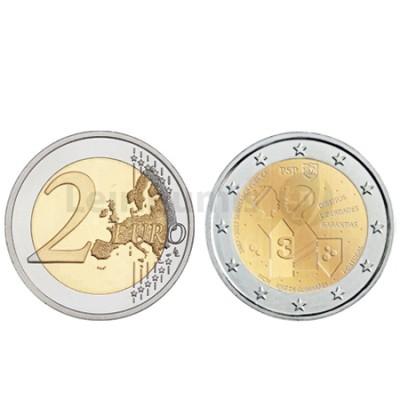 Moeda 2 Euro Portugal 2017 150 Anos da PSP (Normal)