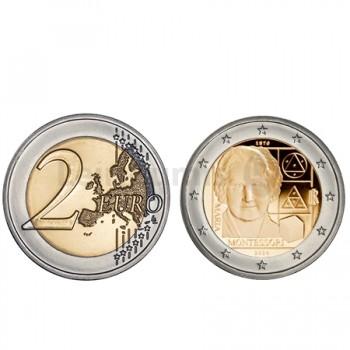 Moeda 2 Euros 150 Anos Nascimentos Maria Montessori de Itália 2020