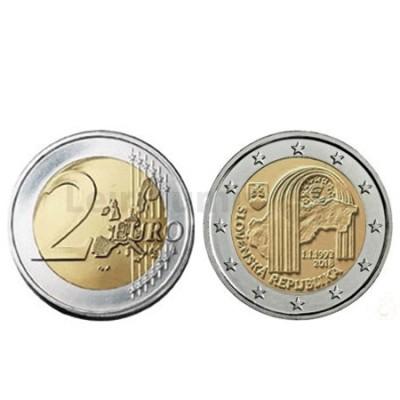 Moeda 2 Euro 25 Anos da Republica da Eslováquia - Eslováquia 2018