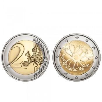 Moeda 2 Euros 30 Anos do Instituto de Neurologia e Genética Chipre 2020