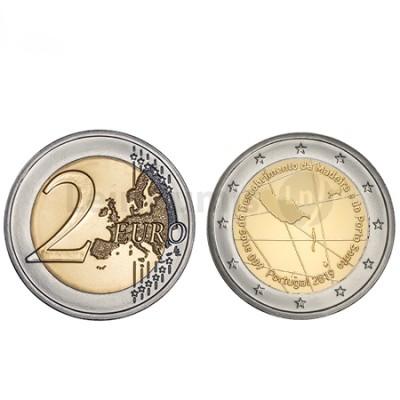 Moeda 2 Euro 600 anos Descobrimentos da Madeira  Portugal 2019