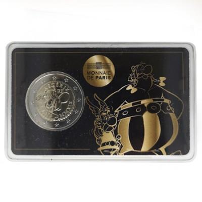 Moeda 2 Euro Obélix França 2019  (A moeda é sempre a mesma muda só a embalagem)