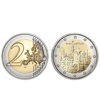 Moeda 2 Euro Colinas das Cruzes Lituânia 2020