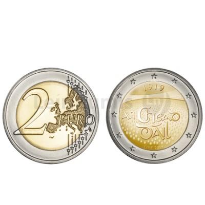 Moeda 2 Euro Dail Élream Irlanda 2019