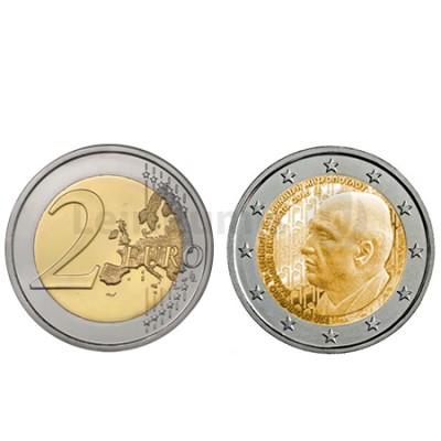 Moeda 2 Euros Dimitri Mitropoulos - Grécia 2016
