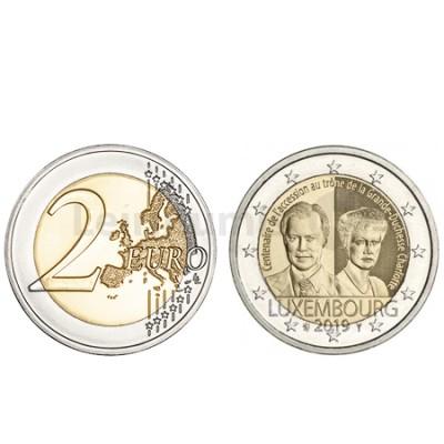 Moeda 2 Euro Duquesa Charlotte do Luxemburgo 2019