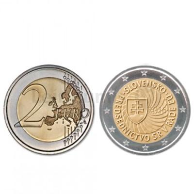 Moeda 2 Euro Eslováquia 2016 Presidencia EU