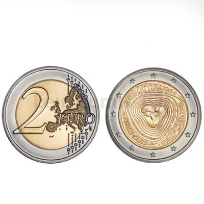 Moeda 2 Euro Festival Stuartines Lituânia 2019
