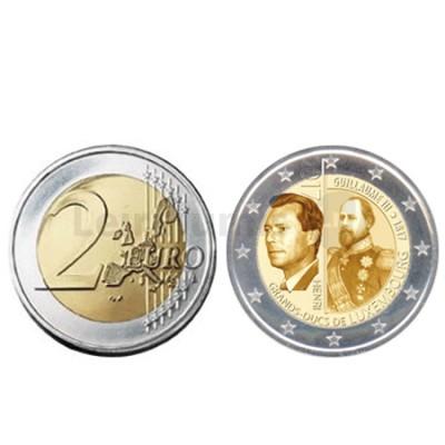 Moeda 2 Euro Guillaume III - Luxemburgo 2017