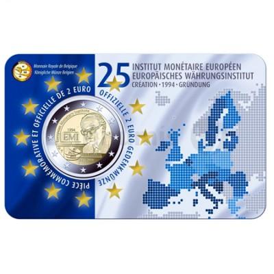 Moeda 2 Euro Instituto Monetário Europeu Bélgica 2019