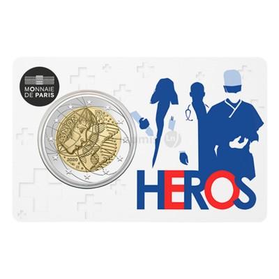 Moeda 2 Euro Investigação Médica Heros 2020