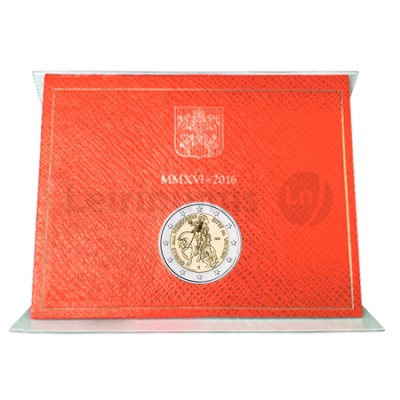Moeda 2 Euros Jubileu da Misericordia - Vaticano 2016