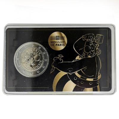 Moeda 2 Euro Asterix/Obelix França 2019  (A moeda é sempre a mesma muda só a embalagem)