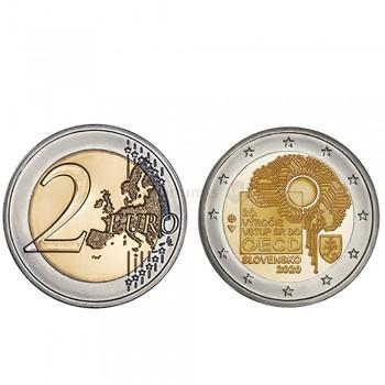 Moeda 2 Euro OCDE Eslováquia 2020