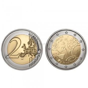 Moeda 2 Euros Os Jogos Malta 2020