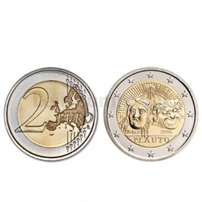 Moeda 2 Euros  Itália 2016 Plauto