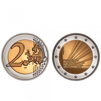 Moeda 2 Euros Presidência Portuguesa da União Europeia Portugal 2021 Proof
