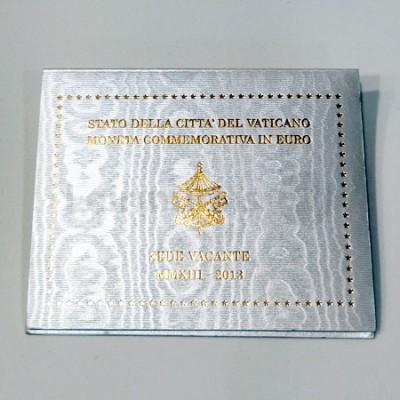 Moeda 2 Euros Sede Vacante Vaticano 2013