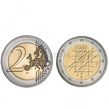 Moeda 2 Euro Universidade Turku Finlândia 2020
