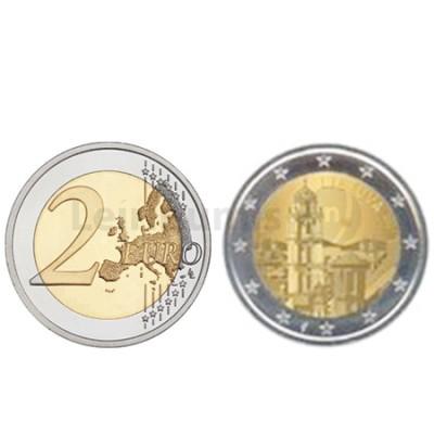 Moeda 2 Euro Lituânia 2017 Vilnius Capital Europeia da Cultura