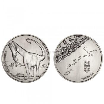 Moeda 5€ Dinheirosaurus Lourinhanensis Portugal 20 21 (Disponível a partir de 21/09)