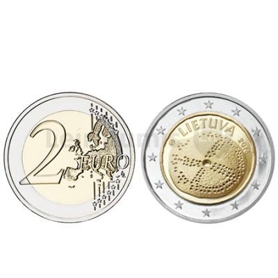 Moeda 2 Euro Cultura Báltica - Lituânia 2016