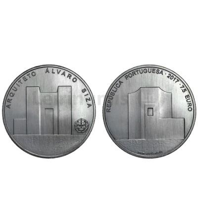 Moeda 7,5€  Arquiteto Álvaro Siza Portugal 2017 Prata 500