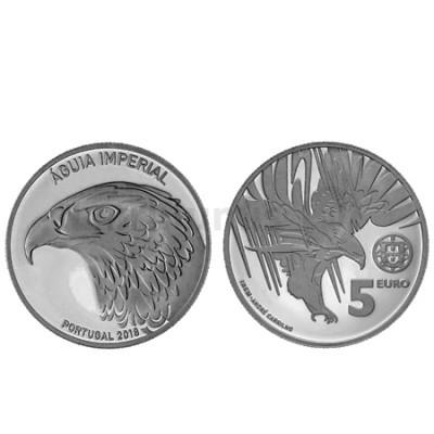 Moeda 5 € Comemorativa Águia Imperial 2018