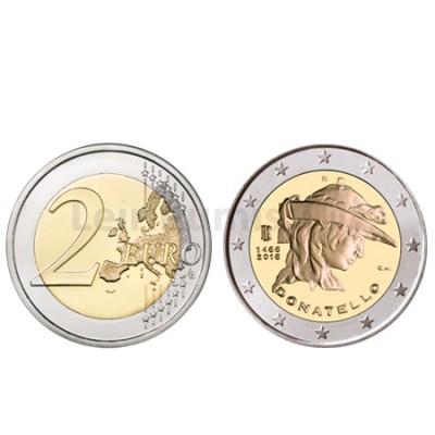 Moeda 2 Euros  Itália 2016 Donatelo