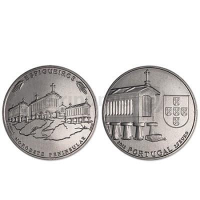 Moeda 2,5€ Espigueiros Portugal 2018
