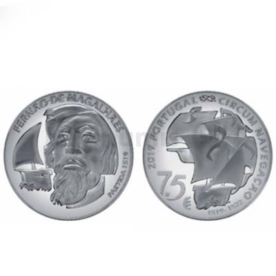 Moeda 7,5 € Fernão de Magalhães Cuproniquel Portugal 2019