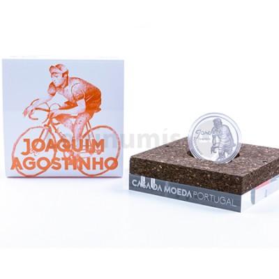 Moeda 7,5€ Joaquim Agostinho Prata Proof Portugal 2019