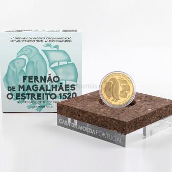 Moeda 7,5€ Comemorativa O Estreito Portugal 2020 ouro