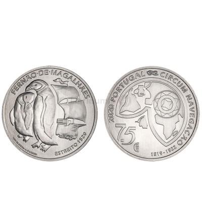 Moeda 7,5€ Comemorativa O Estreito Portugal 2020 prata