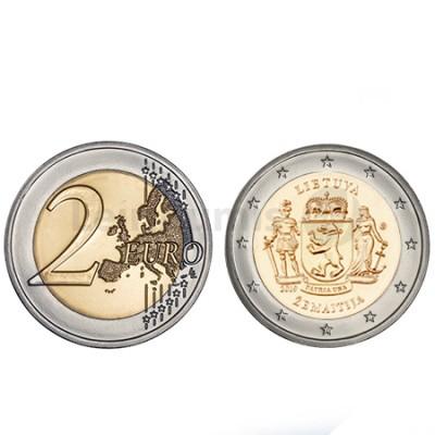 Moeda 2 Euro Zemaitija Lituânia 2019
