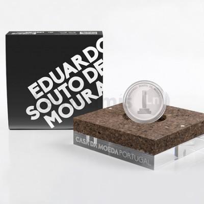 Moeda 7,5€ Eduardo Souto Moura Portugal 2018 Prata Proof